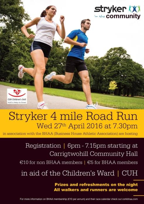 Cork BHAA Stryker 4 mile Apr 27 2016