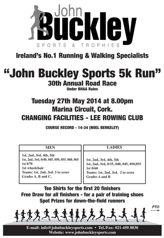 John Buckley 2014 Flyer