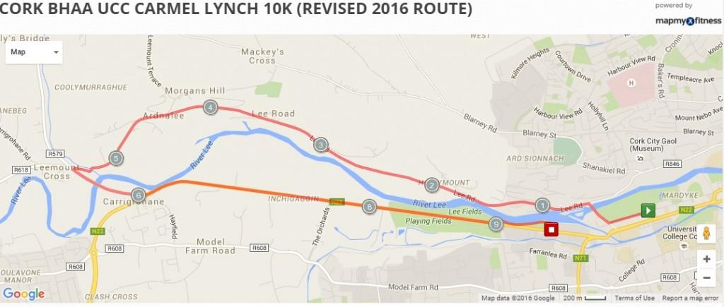 Cork BHAA UCC 10k 2016